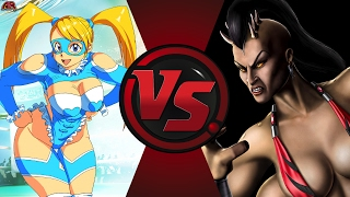 R. MIKA vs SHEEVA! (Street Fighter vs Mortal Kombat) Cartoon Fight Club Episode 154