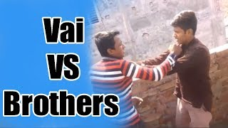 The Tanpara LTD - [ Vai VS Brothers ] Bangla New Fanny Natok 2018