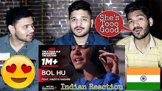 Indian Reaction On BOL HU - Soch The Band Ft. Hadiya Hashmi | NESCAFE Basement season 5