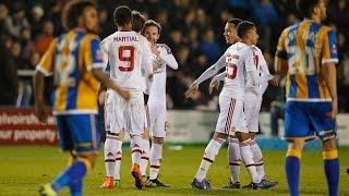 Shrewsbury vs Manchester United 0-3 All Goals - Jesse Lingard Goal 22_02_2016 HD