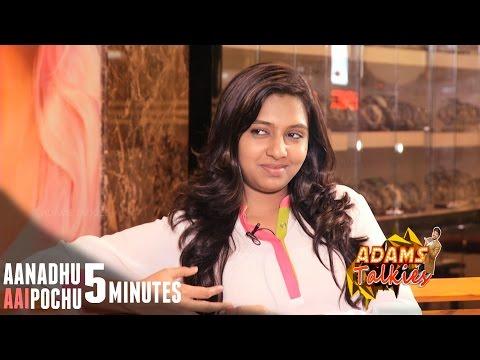 Aanadhu Aagipochu 5 Minutes with Lakshmi Menon   VJ Adams
