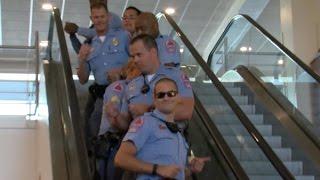 Raleigh Police Department Running Man Challenge