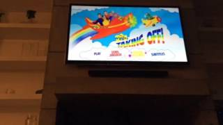 THE WIGGLES TAKING OFF! | Dvd Menu Walkthrough #26