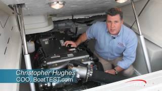 Yanmar  8LV 370 Engine Test 2011- By BoatTest.com