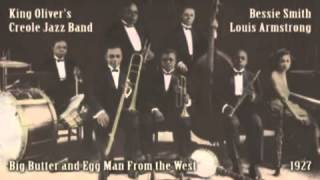 King Olivern 39 s Creole Jazz Band Big Butter and Egg Man From the West 1927www savevid com
