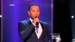 The 47th NAACP Image Awards: John Legend Drops Knowledge