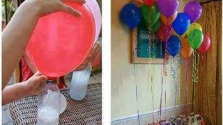 Inflating Balloon With Baking Soda & Vinegar