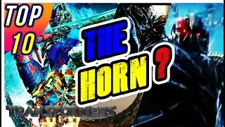 Transformers 5: TOP 10 - HORN of UNICRON? Horns from Hell. Top 10 Transformers The Last Knight Movie