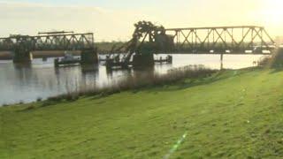 Totalschaden an Friesenbrücke Weener-NDR Bericht