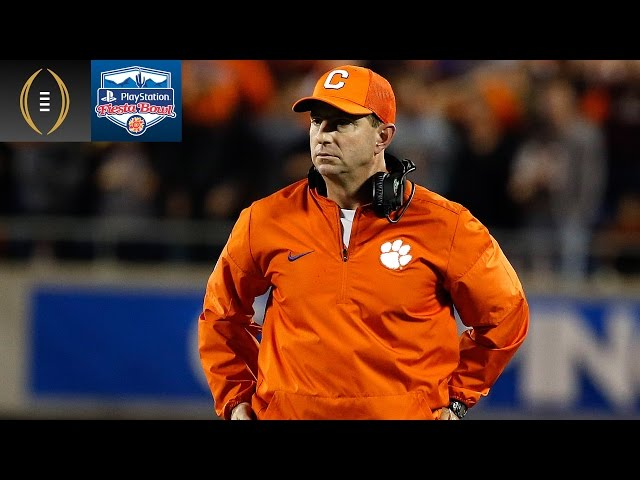 Clemson's Jay Guillermo Does Dabo Swinney Impression | Fiesta Bowl Preview