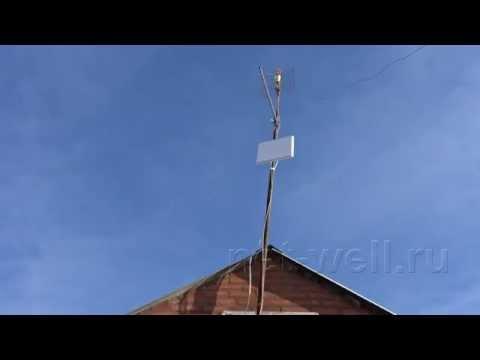 Тест 3G антенн KP20-2050 и 3G ANT-1920-20 RN