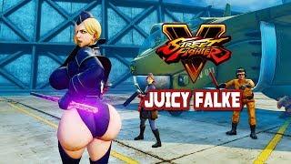 Street Fighter 5 mods Falke Bigger TnA C1