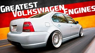 10 Of The Greatest Volkswagen Engines Ever