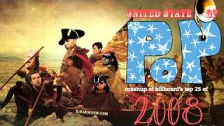 DJ Earworm - United State of Pop 2008 (Viva La Pop) - Mashup of Top 25 Billboard Hits