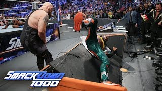 The New Day vs. The Bar - SmackDown Tag Team Championship Match: SmackDown 1000, Oct. 16, 2018