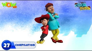 Chacha Bhatija Non stop 3 episodes | 3D Animation for kids | #27