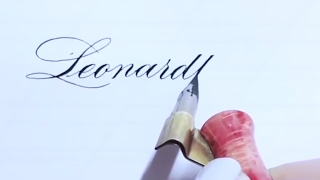 Calligraphy pointed nibs review with Kei Haniya