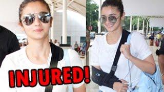 Alia Bhatt After Shoulder Injury Starts 'Kapoor & Sons' Shooting | Hot Bollywood News | Sidharth