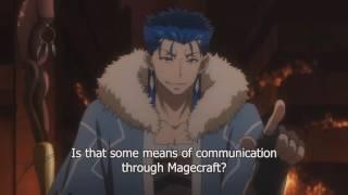 Fate/Grand Order: First Order Cu Chulainn hits on Mashu (Eng Sub)
