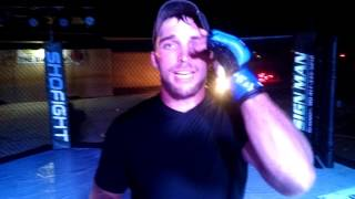 ShoFIGHT: POWDERKEG - Bradly Toth - Post Fight Interview