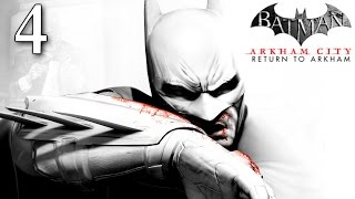 Batman Return To Arkham City: Walkthrough Part 4 - Track Freeze's Location Identifying Coldest Point