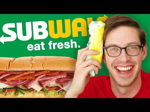 Keith Eats Everything At Subway