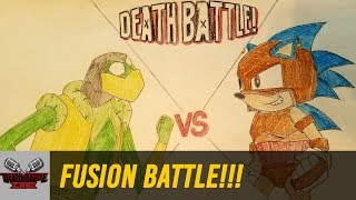 FUSION BATTLE!!! (KERMIT VS SONIC) | DEATH BATTLE Cast
