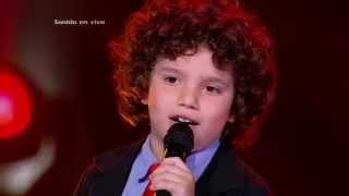 Juan cantó No me doy por vencido de C. Brant y L. Fonsi - LVK Col - Audiciones a ciegas – Cap 2 – T2