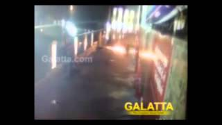 Attack on Sathyam Cinemas before Kaththi Release - Exclusive Video | Galatta Tamil