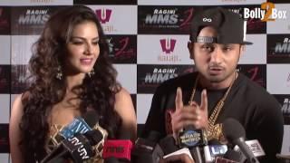 Yo Yo Honey Singh with Sunny Leone interview