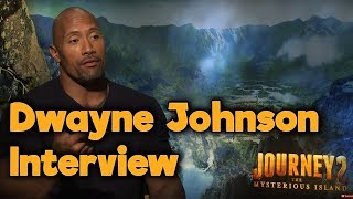 Dwayne Johnson Interview for Journey 2: The Mysterious Island