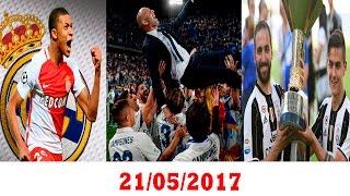 البريميير بلا مفاجئات | ريال مدريد بطلا لليغا | يوفنتوس بطلا للدوري  | رفض عرض ريال مدريد لضم مبابي
