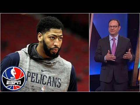 Woj explains what it d take for Anthony Davis to be traded NBA Countdown