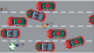 Bangladesh Vs USA, Traffic conditions