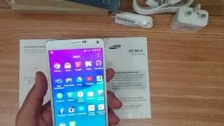 Note 4 SM-N910 Unboxing & Review