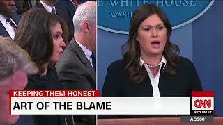 2018  Anderson Cooper: Trump foils WH attempt to shift blame