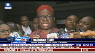 Fayose Reassures IPOB Leader Of Freedom