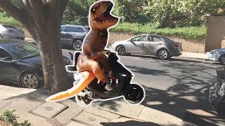 T-Rex Suit Prank!