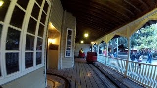 Haunted House POV HD Knoebels Amusement Resort Dark Ride Front Seat On-Ride GoPro Halloween DAFE