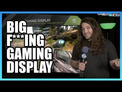 The Big F***ing Gaming Display - HP Omen X 65 | CES 2018