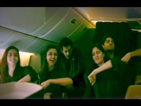 Katrina Kaif, Sidharth Malhotra, Alia Bhatt , Parineeti Chopra Dance On Kala Chashma