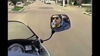 Passeio pelo centro de Guaíba em 6/jul/1992 de RD-350