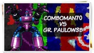 UMvC3 - Comboman70 vs GR. Paulow3b (Casuais pré-FNF)