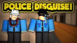 POLICE DISGUISE! (ROBLOX Jailbreak)