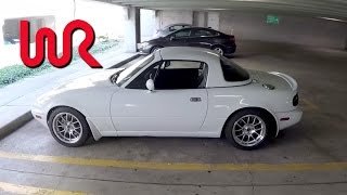Modified 1996 Mazda MX-5 Miata - WR TV POV Test Drive