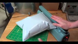 How to Make Your Own Air Pillows for Shipping