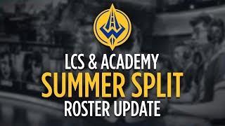 Golden Guardians Summer Split Roster Update