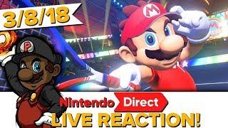 Nintendo Direct LIVE REACTION! (3/8/18)