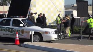 CSI Miami Action Scene