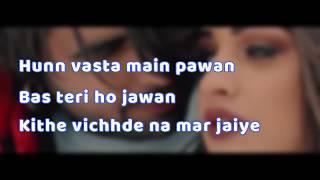 Ajj Vi Chaunni Aah (Lyrical Video) | Ninja ft Himanshi Khurana | Gold Boy | Latest Punjabi Song 2018